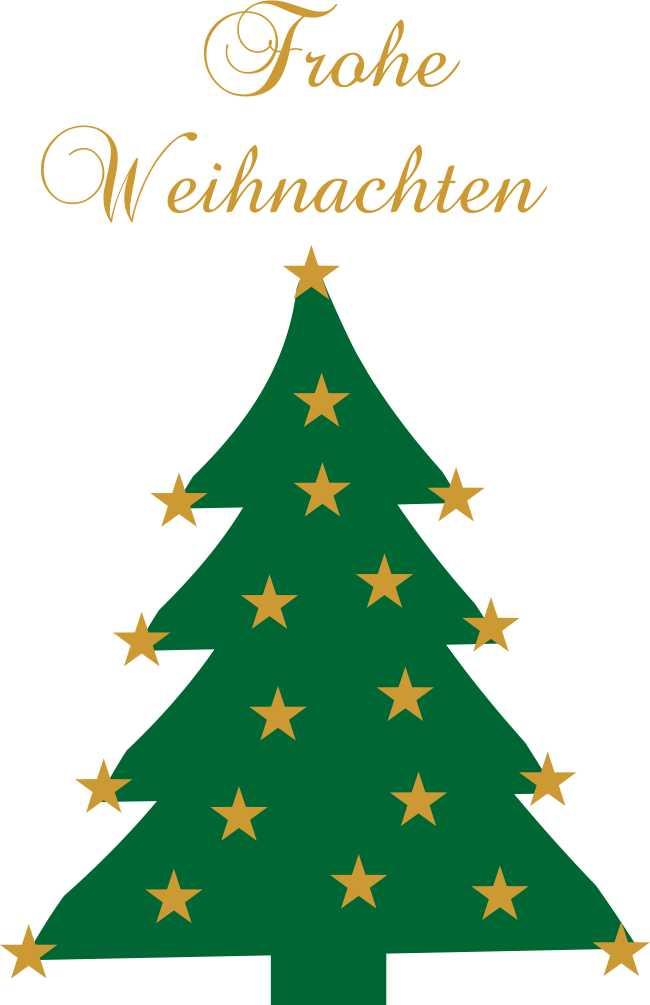 Sterne Für Weihnachtsbaum.Wandtattoo Weihnachtsbaum Sterne Frohe Weihnachten 2 Farbig