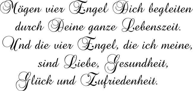sprüche mit engeln Wandtattoo   4 Engel Spruch   .melis folienwerkstatt.de sprüche mit engeln